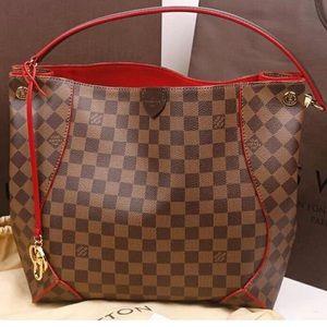 🌹🚨red caissa Louis Vuitton